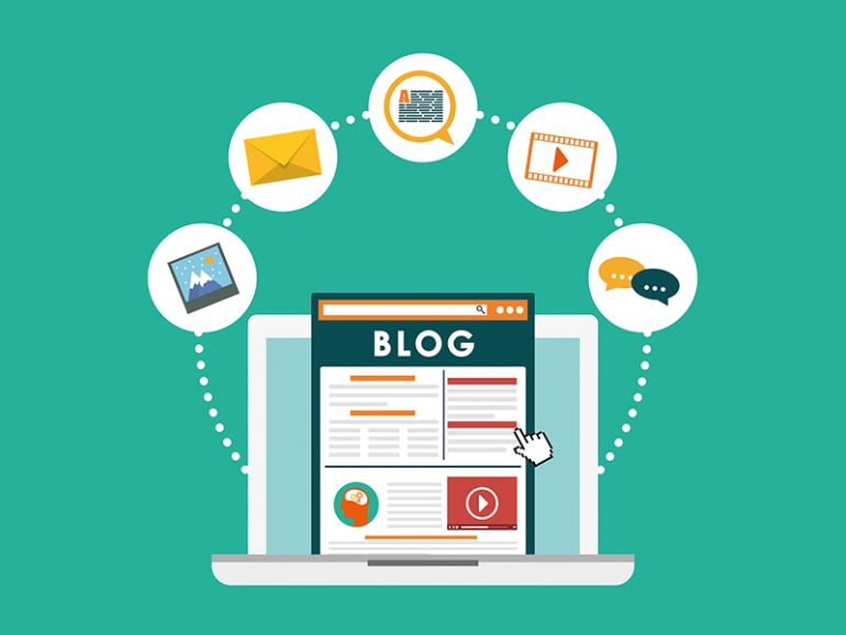 Quảng cáo, truyền thông qua các kênh blog nổi tiếng